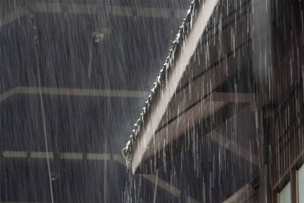 Gutters Prevent Rain Water Damage