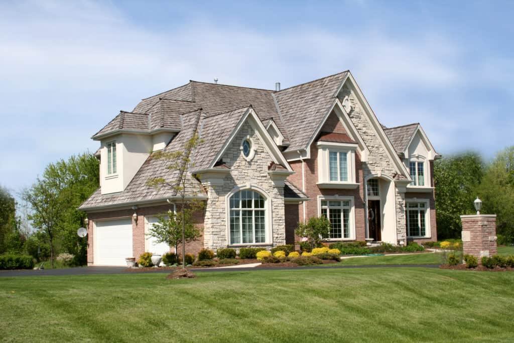 Home roof curb appeal